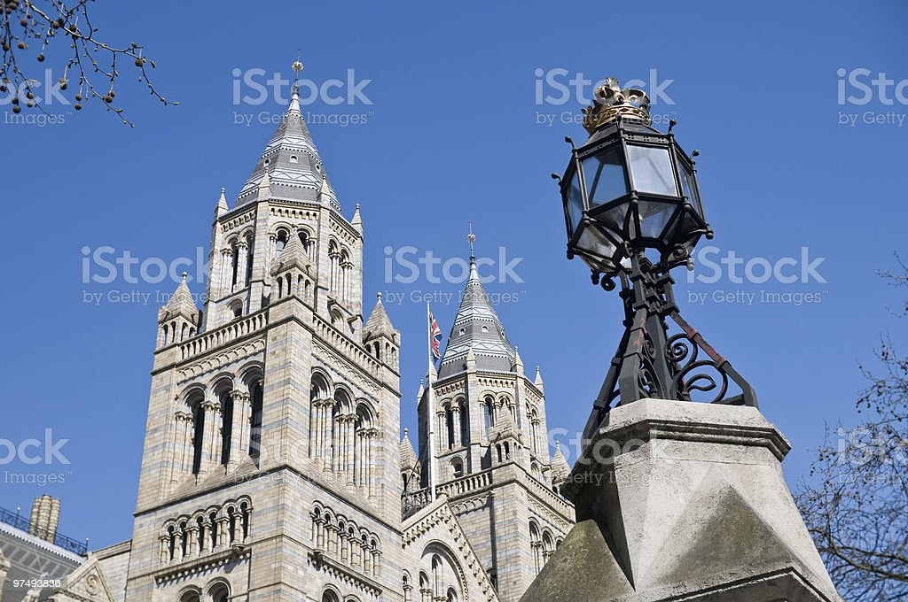 Towers of the national history museum. royalty-free stock photo