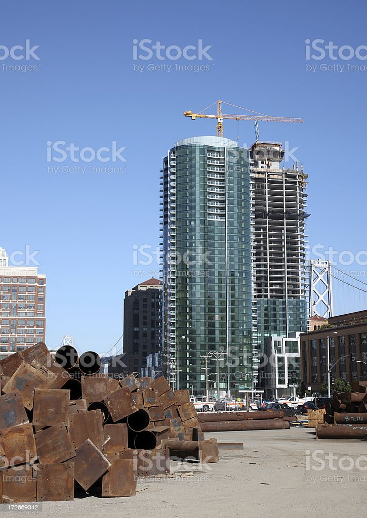 Towers stock photo