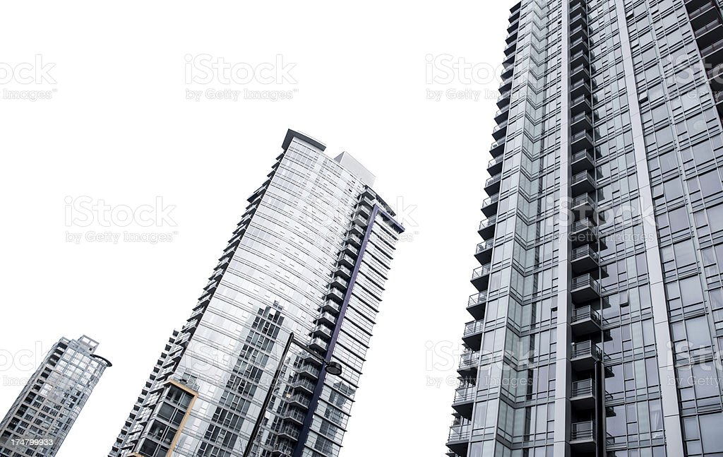 Towers royalty-free stock photo