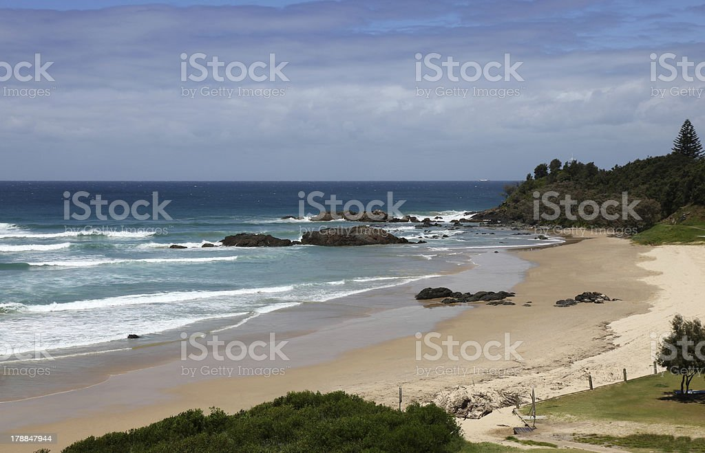Town Beach - Port Macquarie NSW Australia stock photo