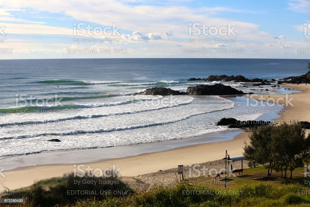Town Beach, Port Macquarie NSW stock photo