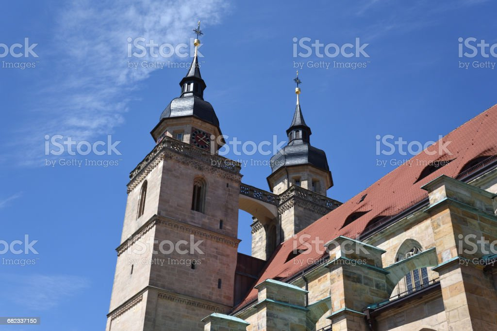 Stadtkirche zbiór zdjęć royalty-free