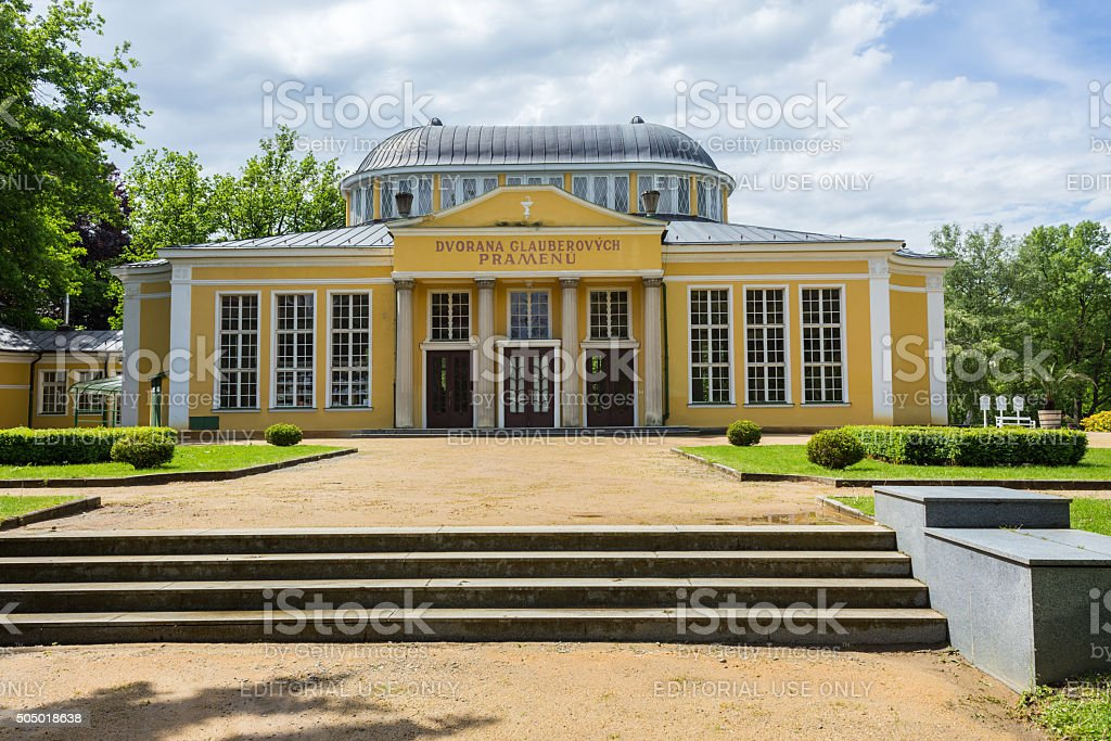 Town Frantiskovy Lazne. stock photo