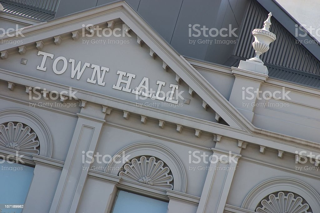 Town Hall 03 royalty-free stock photo