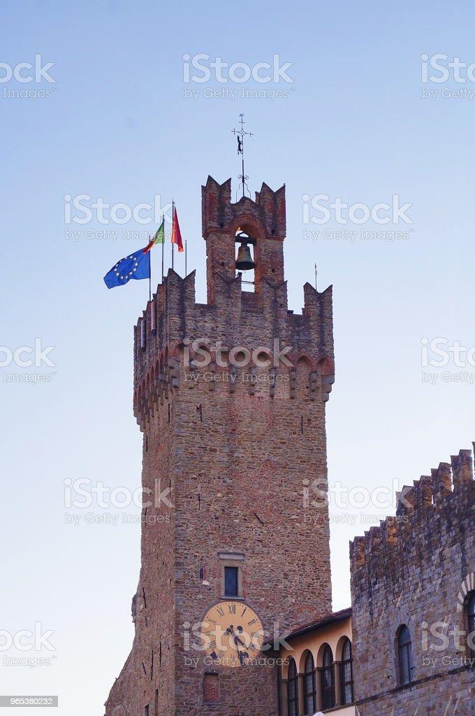 Town Hall, Arezzo royalty-free stock photo