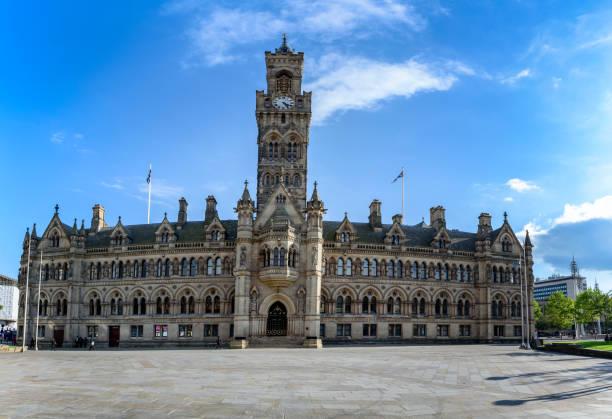 Town Hall Bradford stock photo
