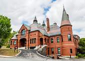 istock Town Hall Building Belmont Massachusetts USA 1266875332
