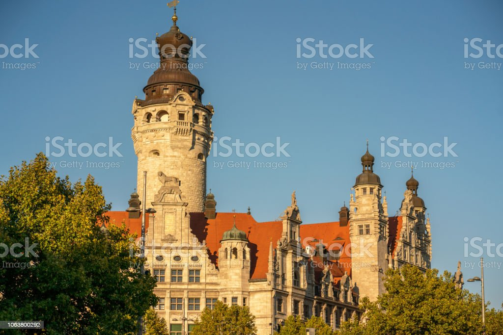 Town Hall Dome In Leipzig Germany Stock Photo Download Image Now Istock