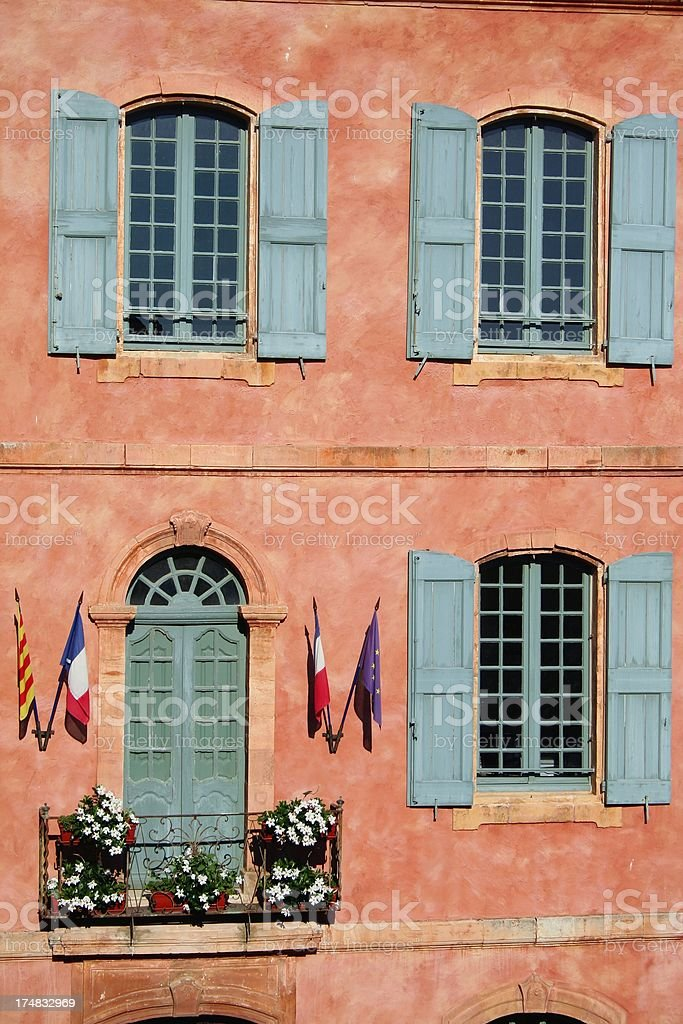 Town hall facade royalty-free stock photo
