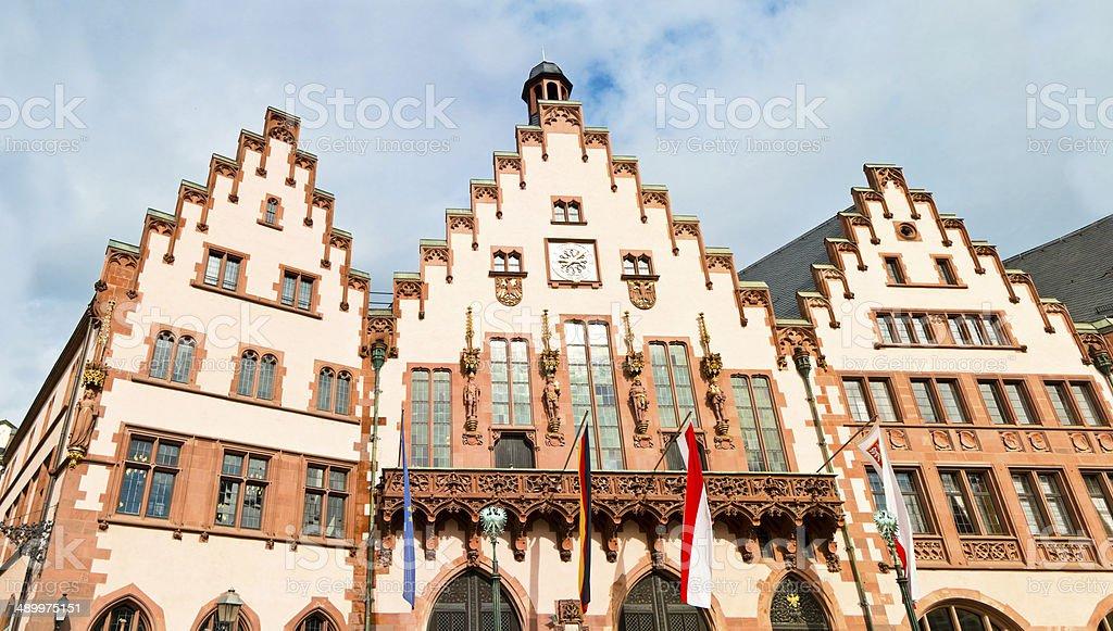 Town Hall Frankfurt am Main Germany stock photo