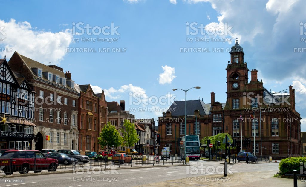 Town Hall, Great Yarmouth stock photo