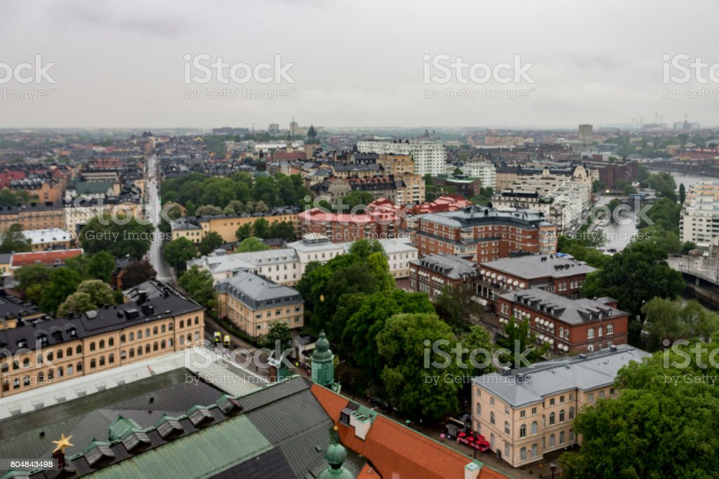 Town Hall Historical Buildings Stockholm Sweden stock photo