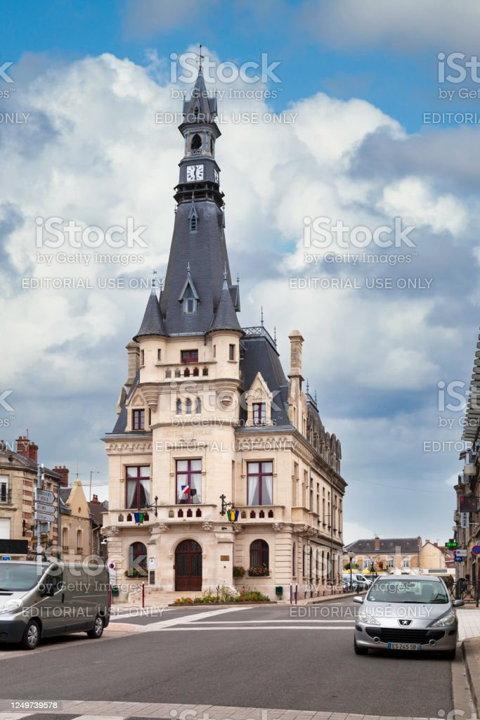 Town hall of Fismes - Royalty-free Architecture Stock Photo