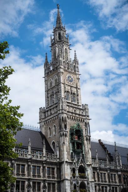 town hall of Munich stock photo