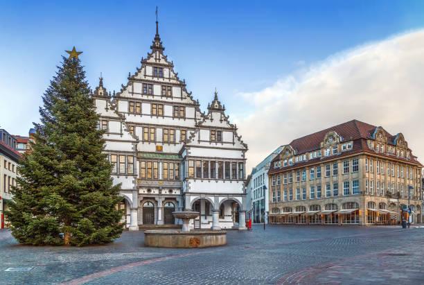 Rathaus von Paderborn, Deutschland – Foto