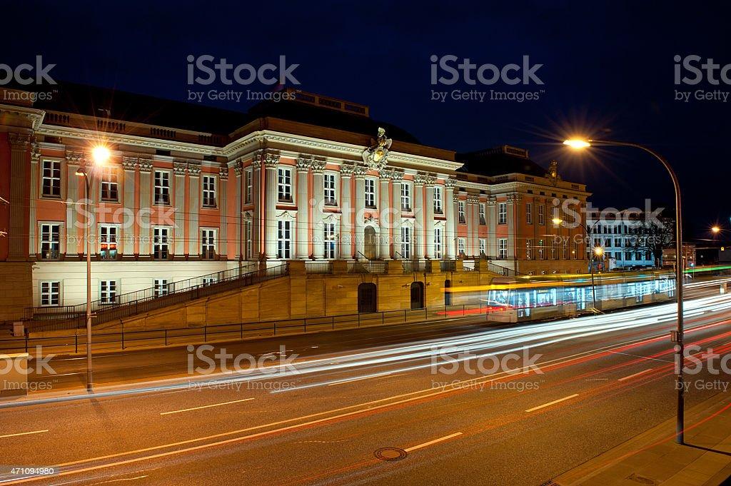 town hall of Potsdam stock photo