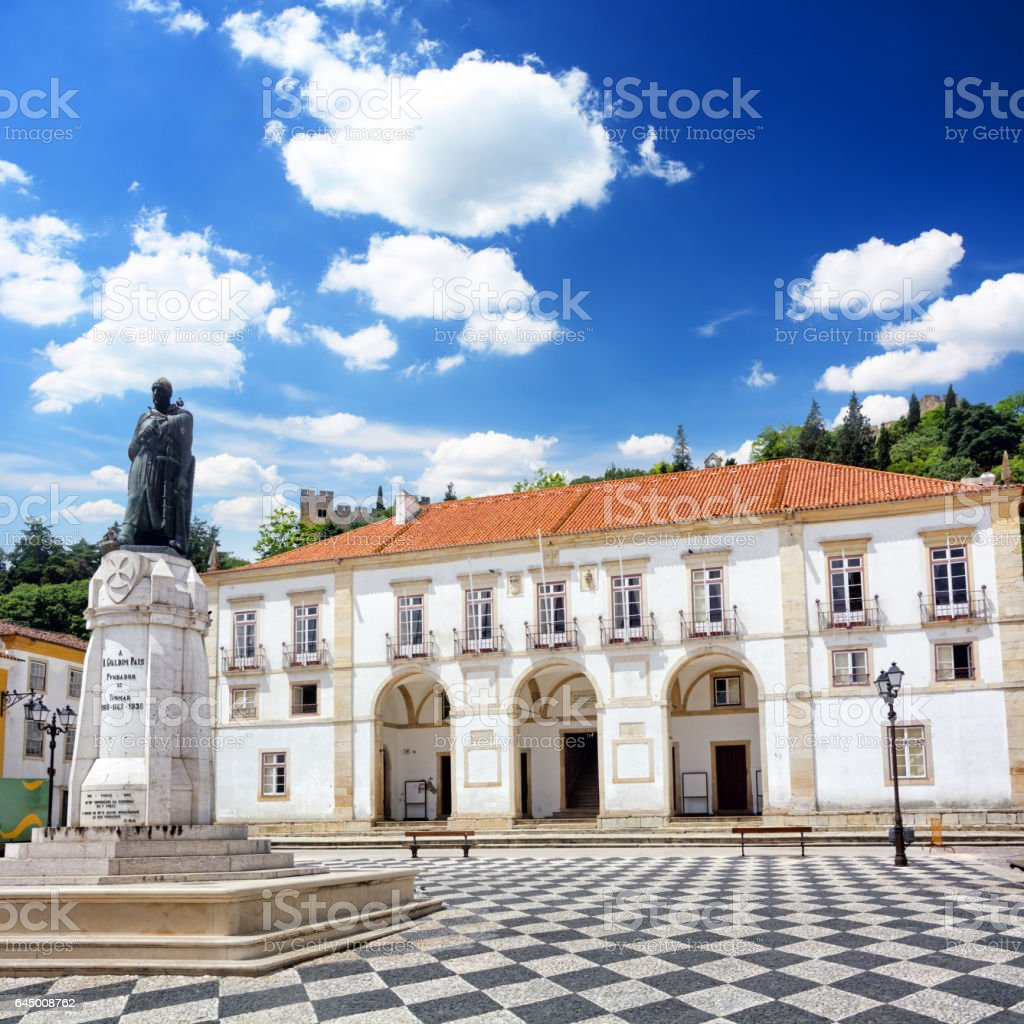Town Hall of Tomar stock photo