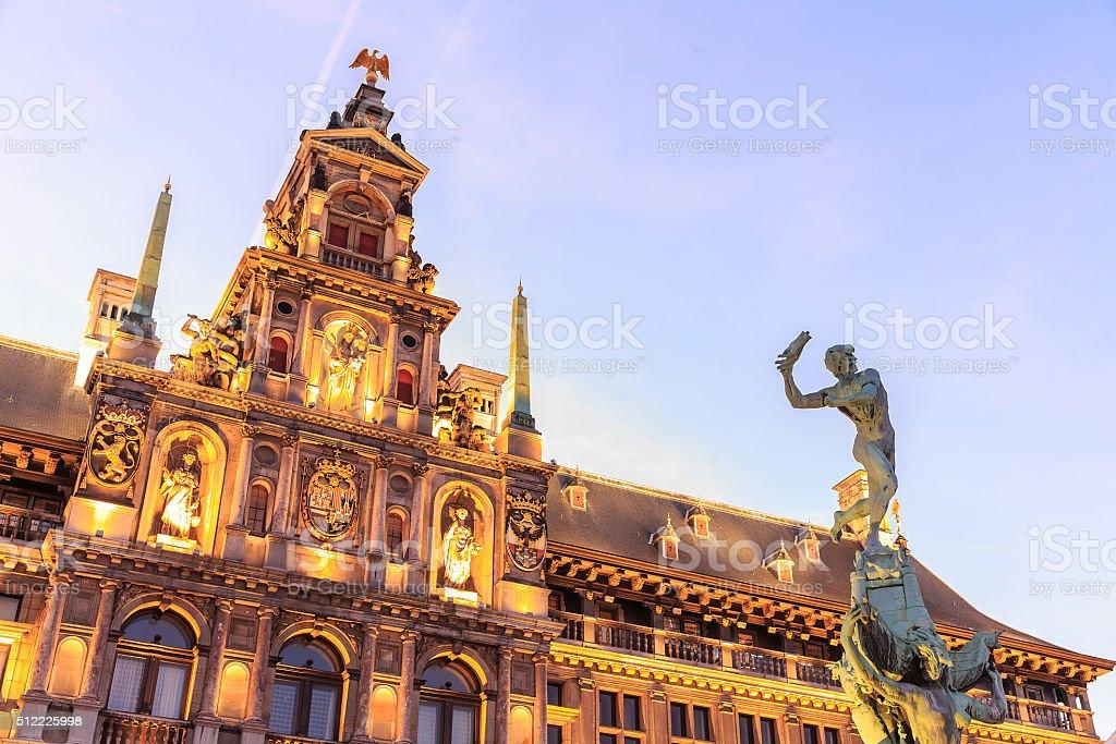 Mairie de la grande place du marché d'Anvers - Photo