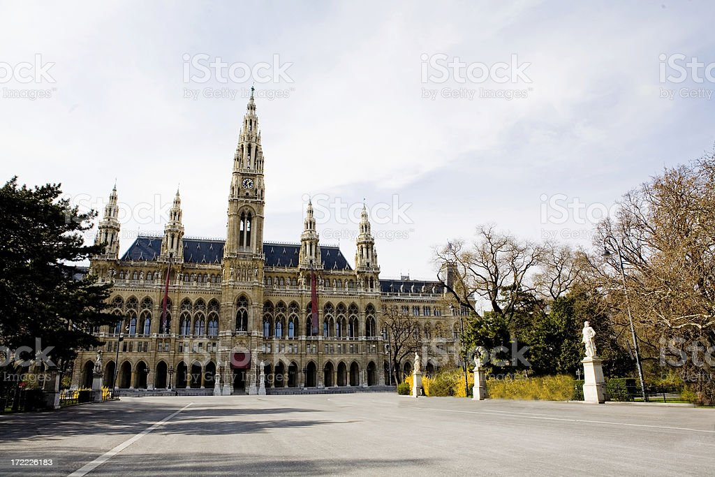 Rathaus stock photo