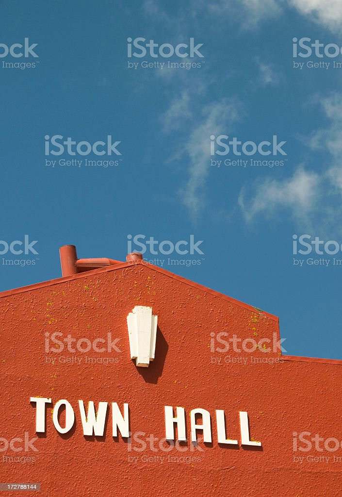 Town Hall royalty-free stock photo
