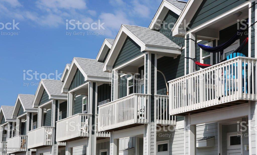 Town Homes - foto de stock