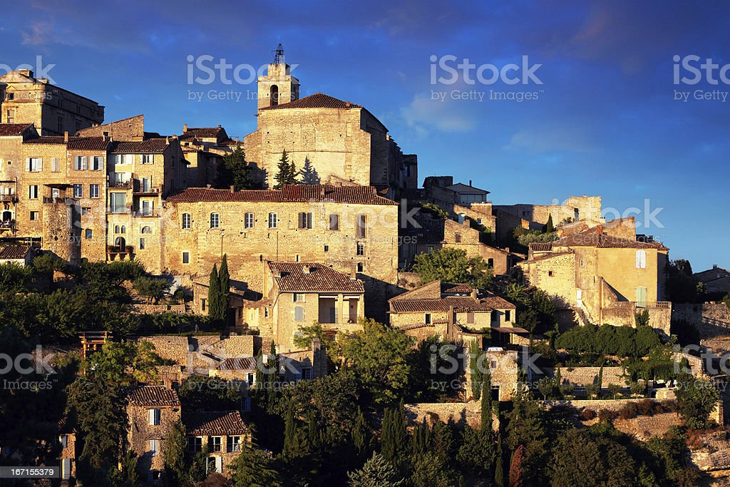 Town in Provence royalty-free stock photo