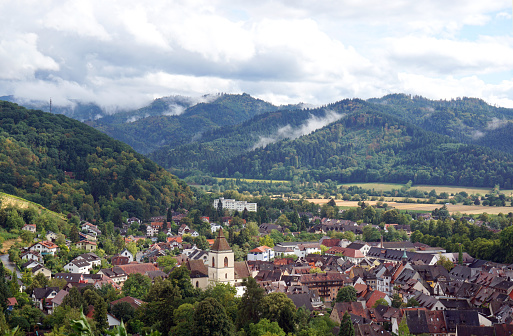 Town in South Germany, Black Forest
