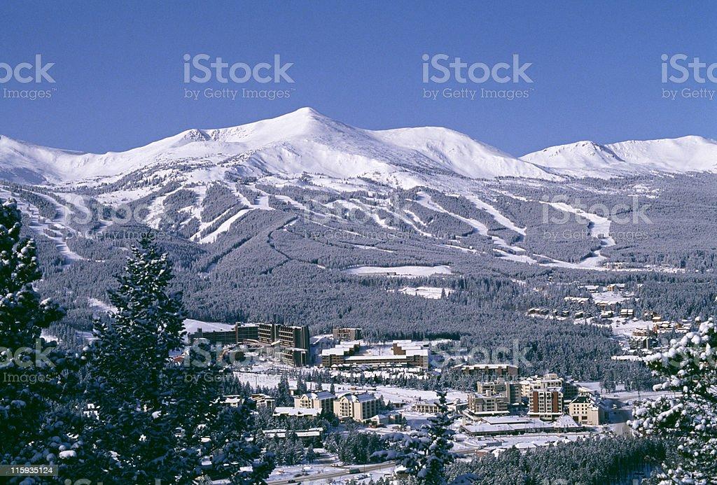 Town of Breckenridge, Colorado stock photo