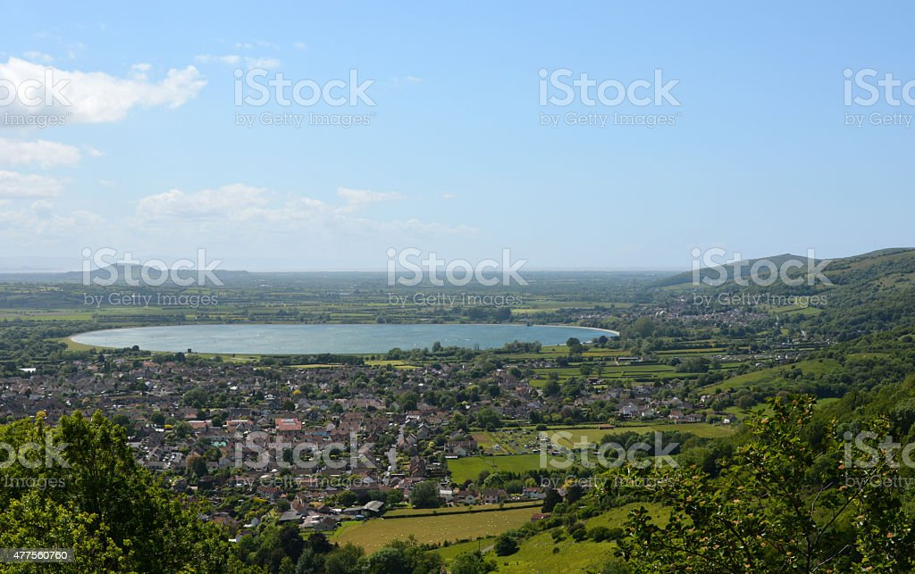 Town of Cheddar stock photo