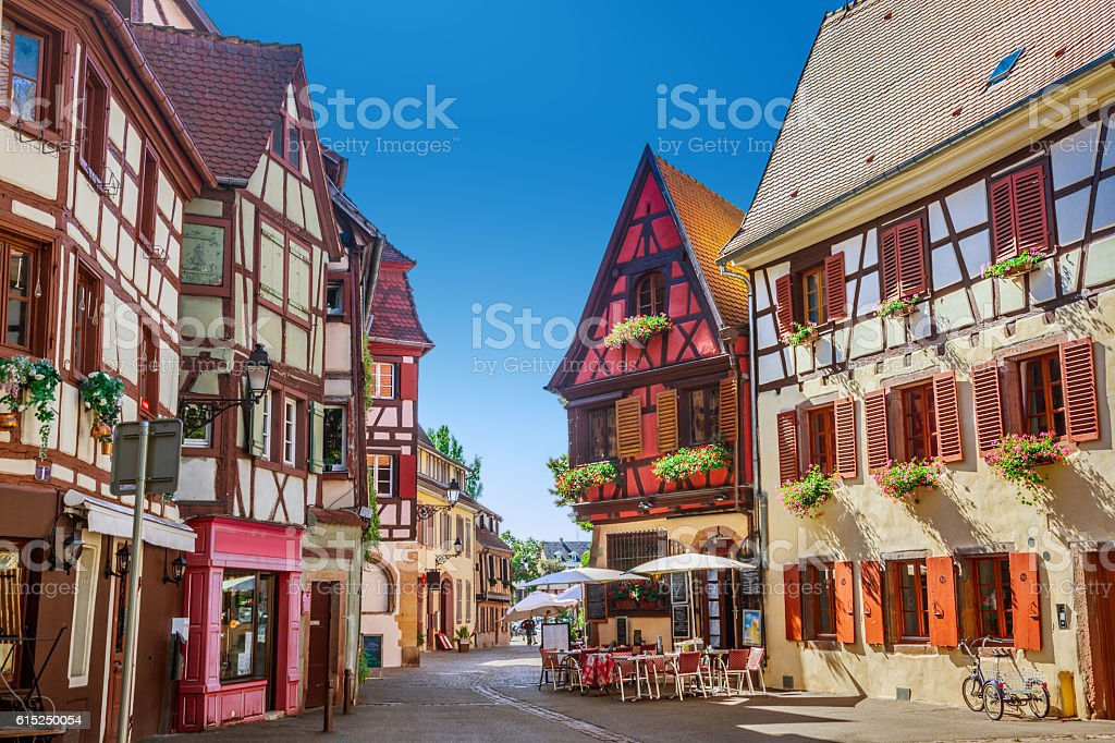 Town of Colmar - foto stock