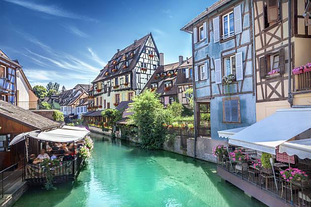 Town of Colmar - foto stock