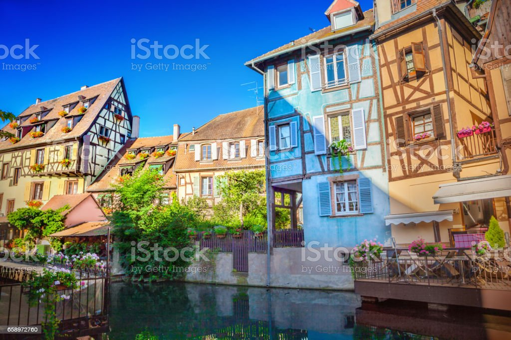 Town of Colmar royalty-free stock photo