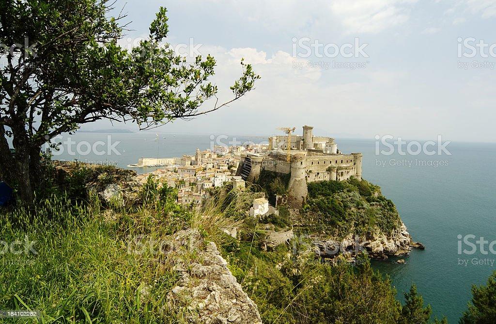 Town of Gaeta, Italy stock photo
