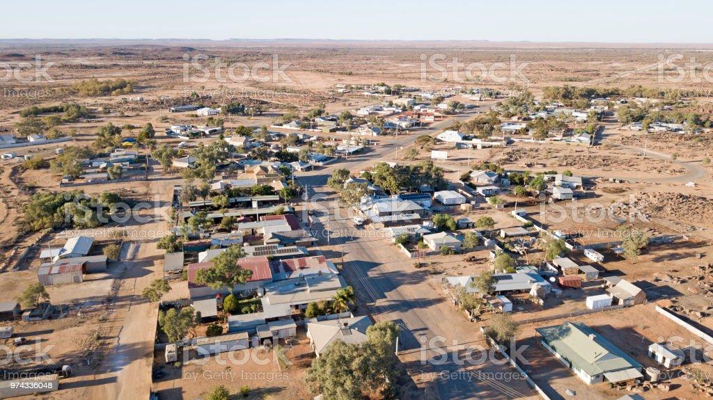 town of  Tibooburra stock photo