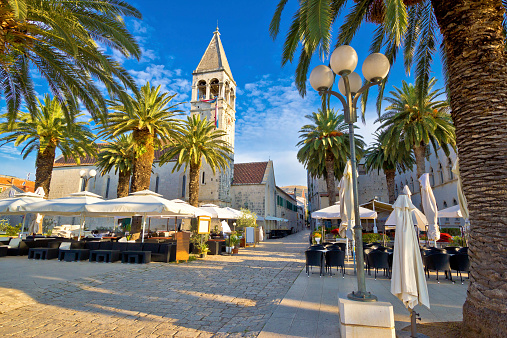 Town of Trogir palm promenade