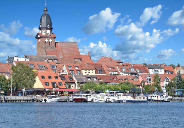 Stadt Waren (Müritz), Mecklenburger Seenplatte, Deutschland – Foto