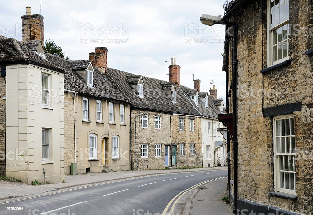 Town of Witney, Oxfordshire stock photo