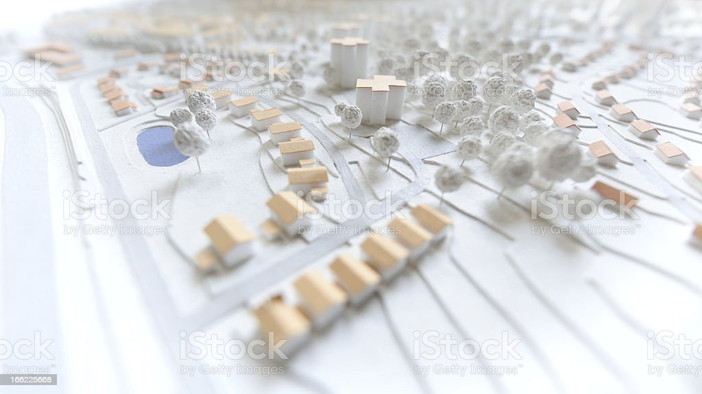 town planning - Royalty-free Abstract Stock Photo