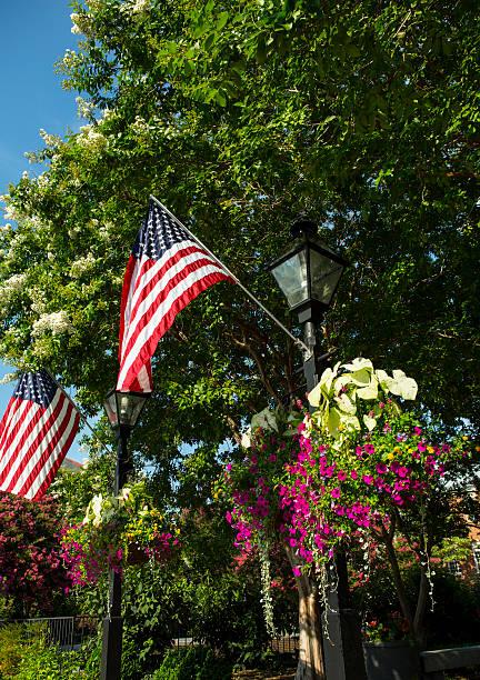Town Square Alexandria, Alexandria, Virginia stock photo
