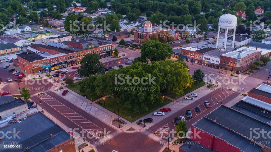 Altstädter Ring Central Park in ländlichen Kleinstadt – Foto