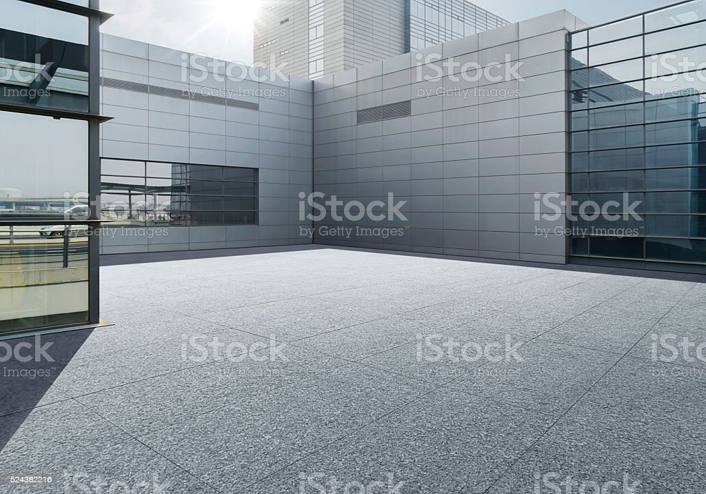 Town Square, stock photo