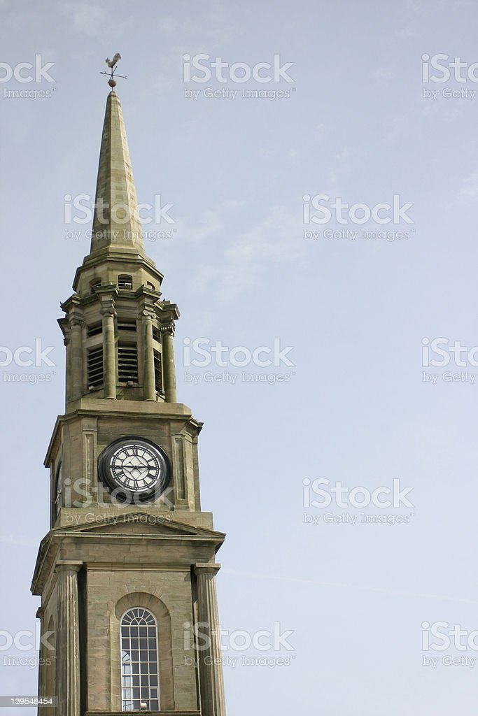 Town Steeple royalty-free stock photo