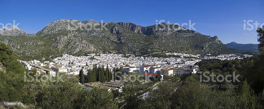 Town Ubrique. Andalucia. Cadiz. Spain. royalty-free stock photo