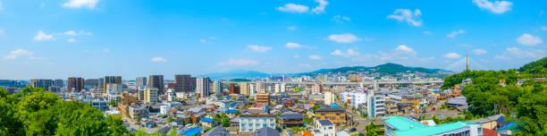 Stadtansicht bei kawanishi Hyogo in Japan – Foto