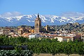 istock Town view, Guadix, Andalusia, Spain. 160515984