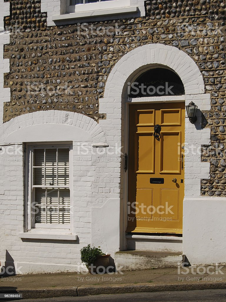 Townhouse in Arundel. West Sussex. England royalty-free stock photo