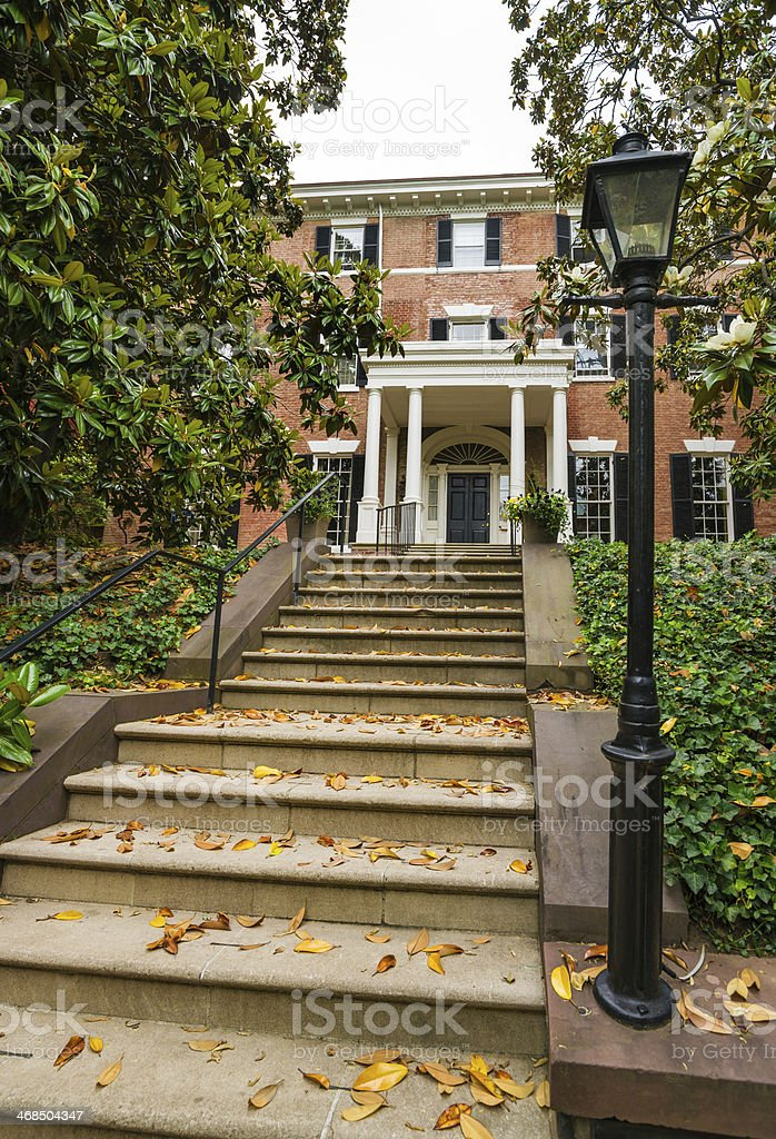 Townhouse in Georgetown, Washington, D.C. royalty-free stock photo