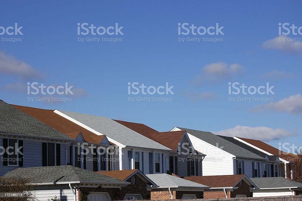 TownHouse Perspective royalty-free stock photo