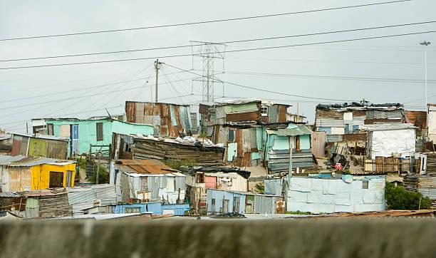 Township Häuser, Südafrika – Foto