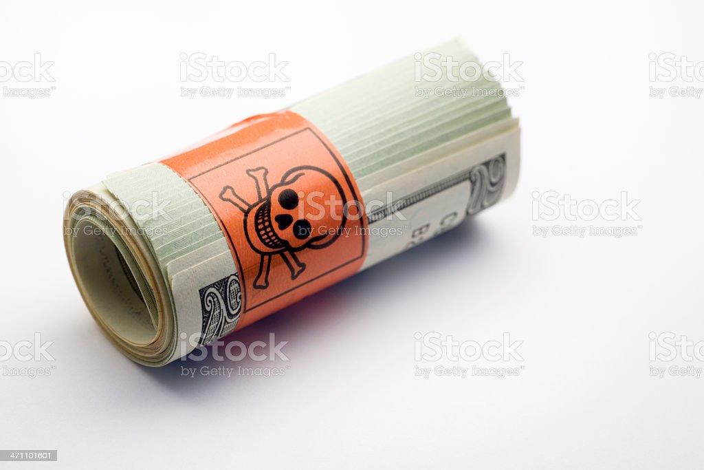 Toxic debt. royalty-free stock photo